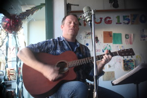 One of our favorite local musicians, Zack Freiwald performing LIVE on the air!  Zack's a great guy and a terrific singer/songwriter.  Look up his stuff online and enjoy!